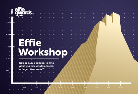 Effie® България организира еднодневен уъркшоп за представители на агенции и рекламодатели