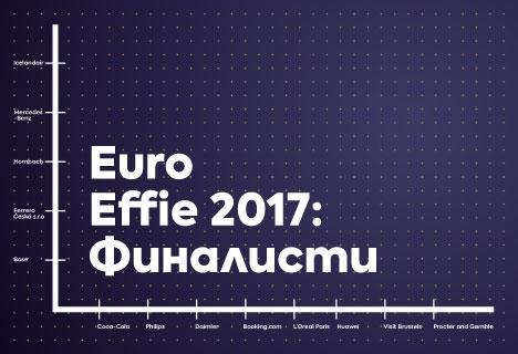 ИЗВЕСТНИ СА ФИНАЛИСТИТЕ В КОНКУРСА EURO EFFIES 2017