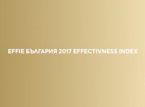 Най-ефективните компании, марки и агенции в България според Effie Effectiveness Index